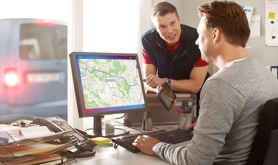 La géolocalisation des véhicules des entreprises